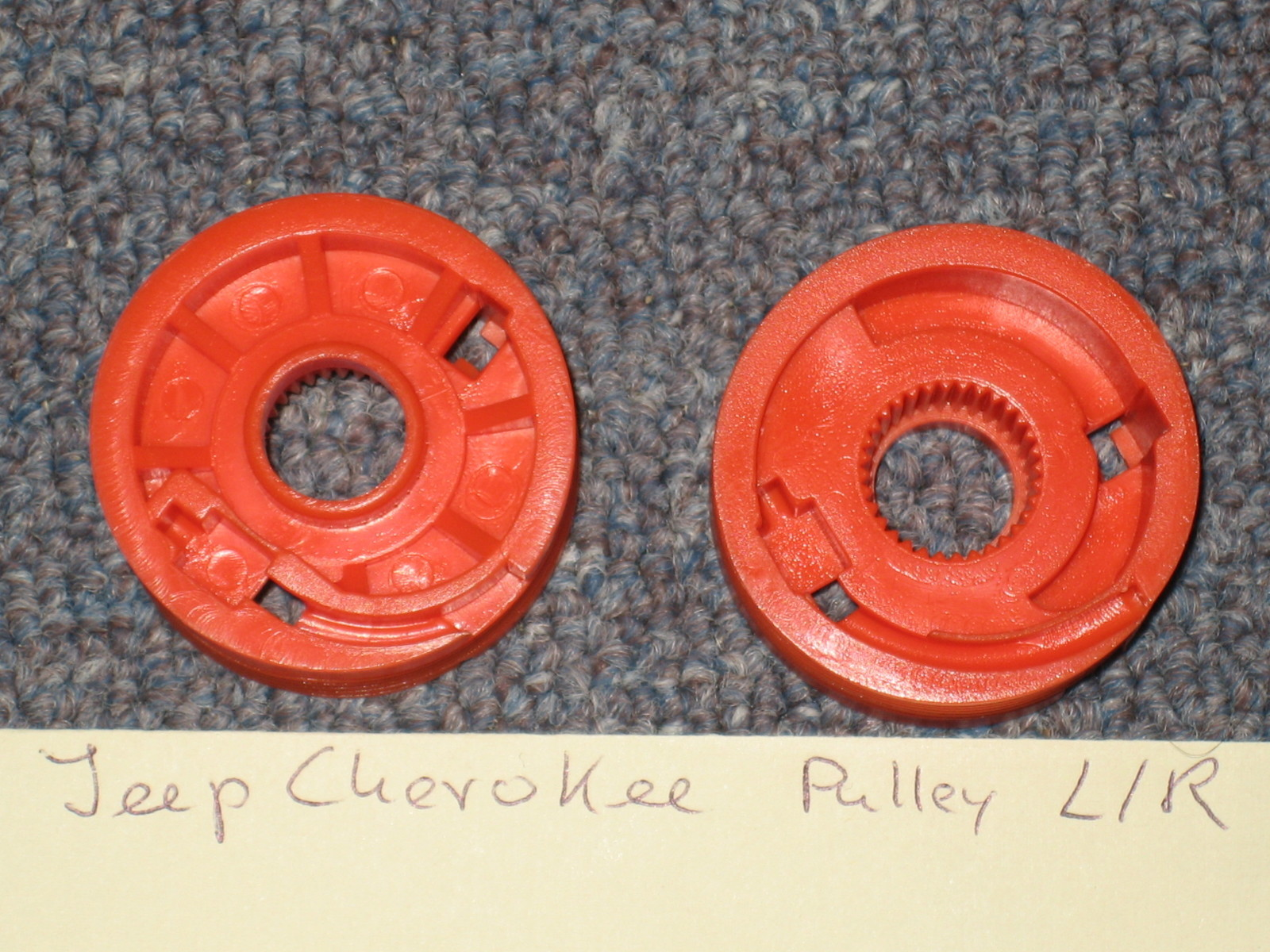 Jeep Cherokee Repair Pulley