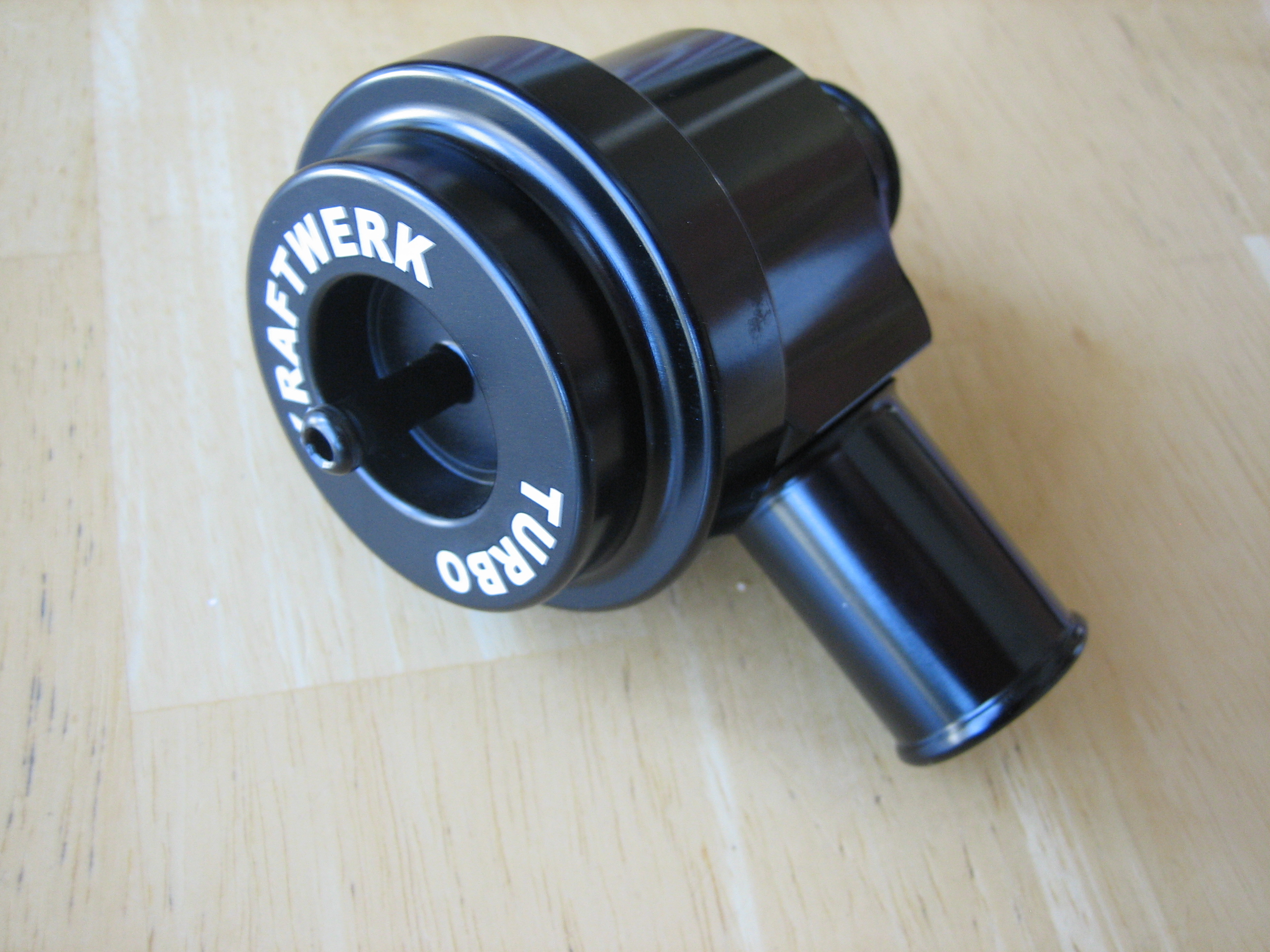 Black Aluminum Turbo Bypass Valve for Saab, Audi, Porsche, VW -